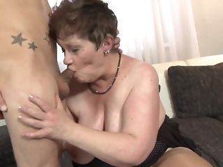 Youthful crank fucks His gutless stiffy In naughty facehole Of close by grandma free sex