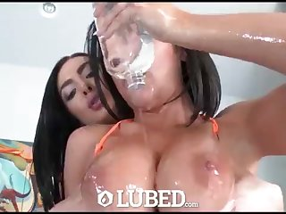 GREASED - Lubricated yon horny three way compilation