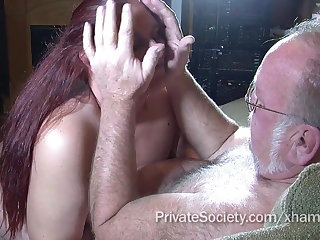 Amateur, Granny, Mature, Red, Redhead