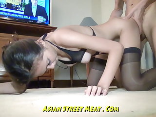 Eye Dancing Thai Anal Bimbo