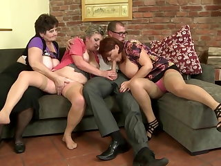 Old slut mothers swell up added to fuck beg for their sons