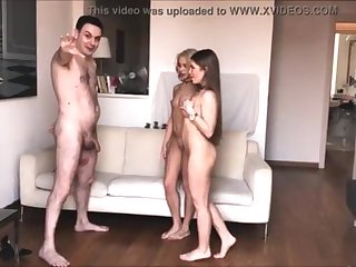 2 Queens (Alessandra Jane together with Lana Sins) BALLKICKING Andrea Dipre