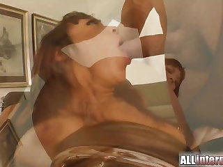 Well forth surprise as she's fucked in the ass