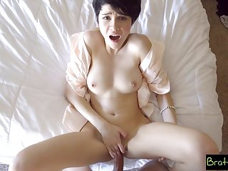 Bratty Sis - Fucked My Stepsister Regarding Our Parents Bed