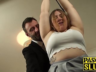 Sexy horny slut there rut gets her throat fucked to tears