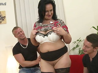 X-rated Mammy suck and mad about not her SON and laddie