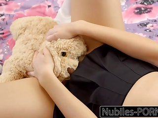 Nubiles-Porn Hot Daughter Squirts Greater than Daddy's Big Cock
