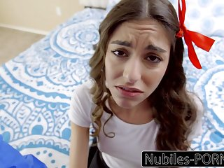 Nubiles Porn - Young Latina Must Please Their way Step Dad